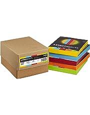 """Astrobrights Color Paper, 8.5"""" x 11"""", 24 lb/89 GSM, Mixed Carton 5-Color Assortment, 1250 Sheets (22998)"""