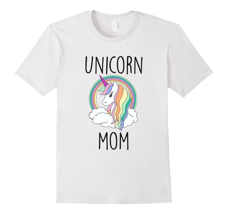 Unicorn Mom Cute Funny Unicorn Shirt-T-Shirt
