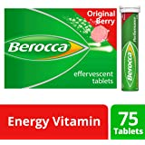 Berocca Energy Vitamin, Original Berry - 75 Effervescent Tablets