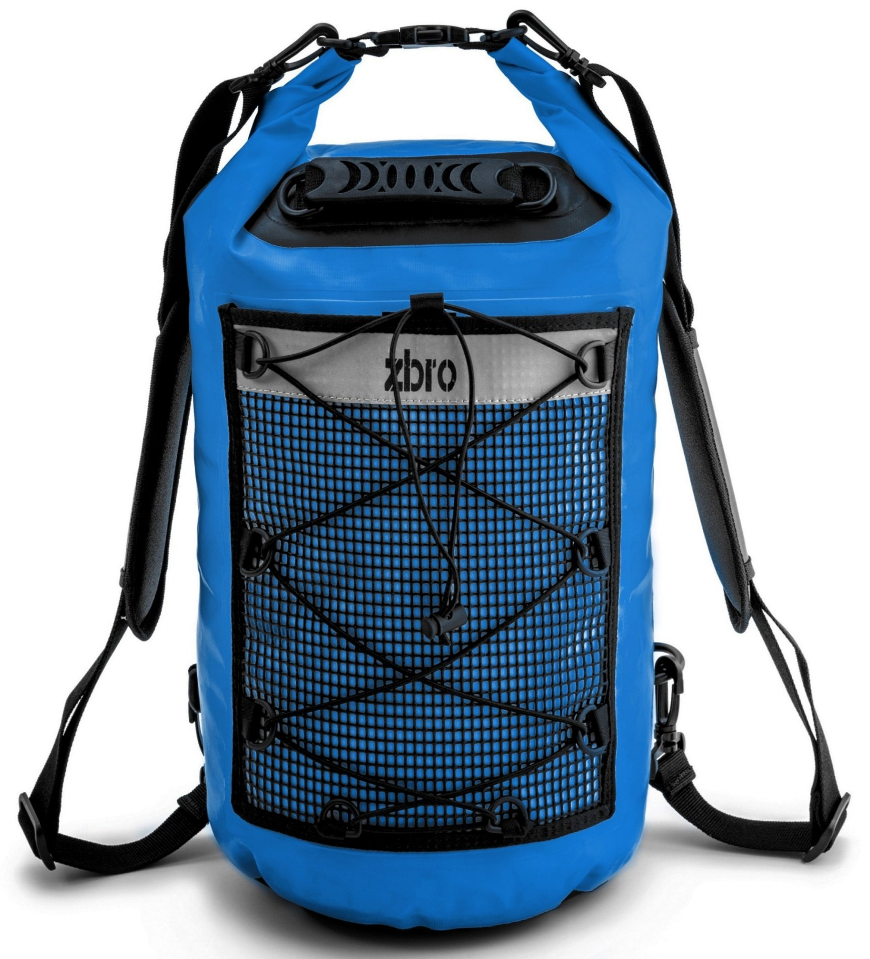 ZBRO Waterproof Sack Dry Bag for Kayaking Boating Fishing Diving Beach - Roll Top Drybag Sack with Padded Straps - Floating Backpack Water Proof Bags 20L 30L 40L - Great Gift for Kayakers by ZBRO