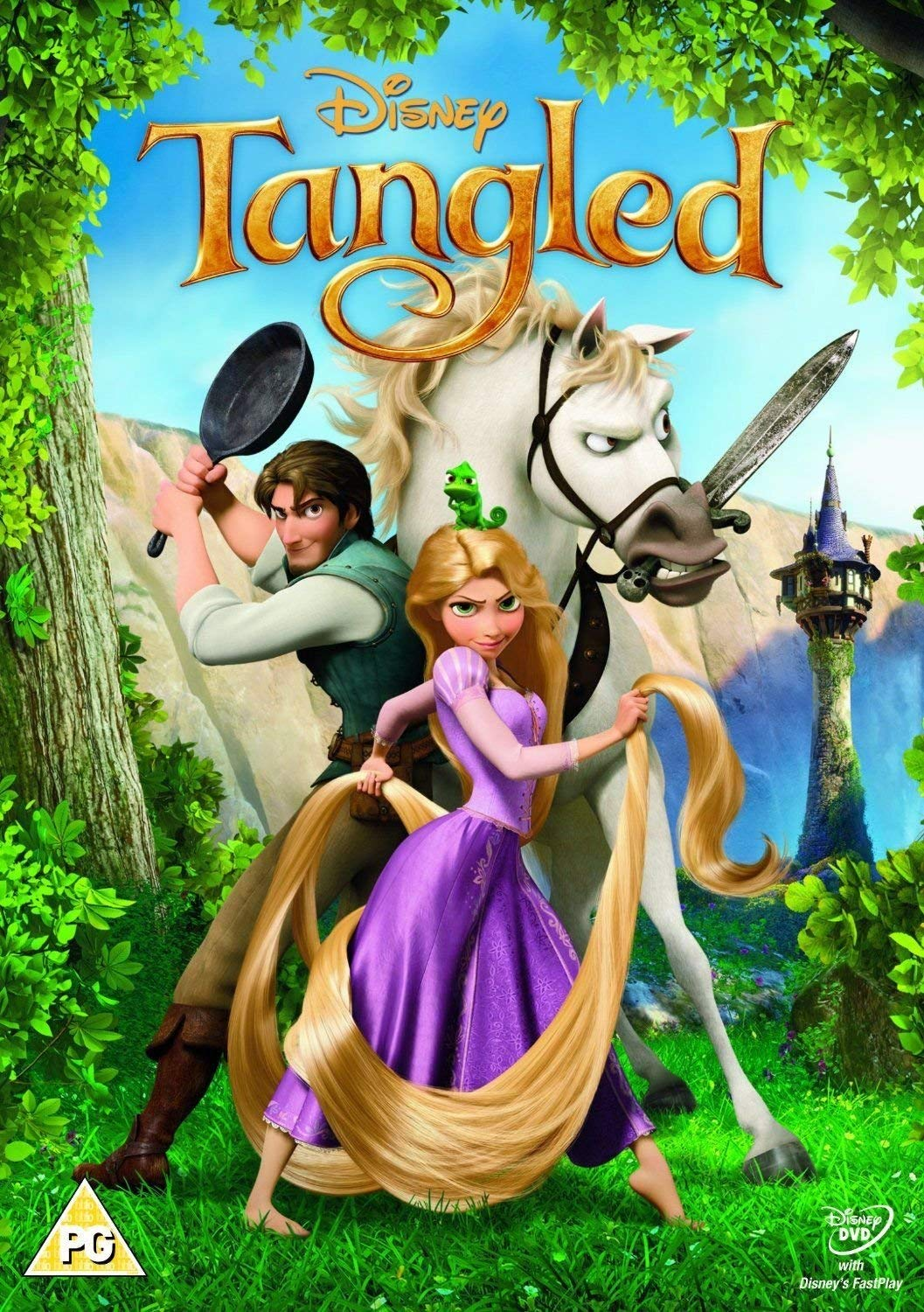Amazon Com Tangled Uk Magical Gifts Dvd Retail Import Anglais Movies Tv