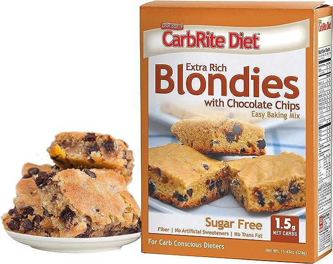 total keto diet blondies