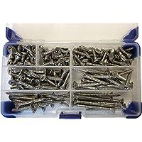 AHC K-10075 número 8 acero inoxidable avellanados tornillos
