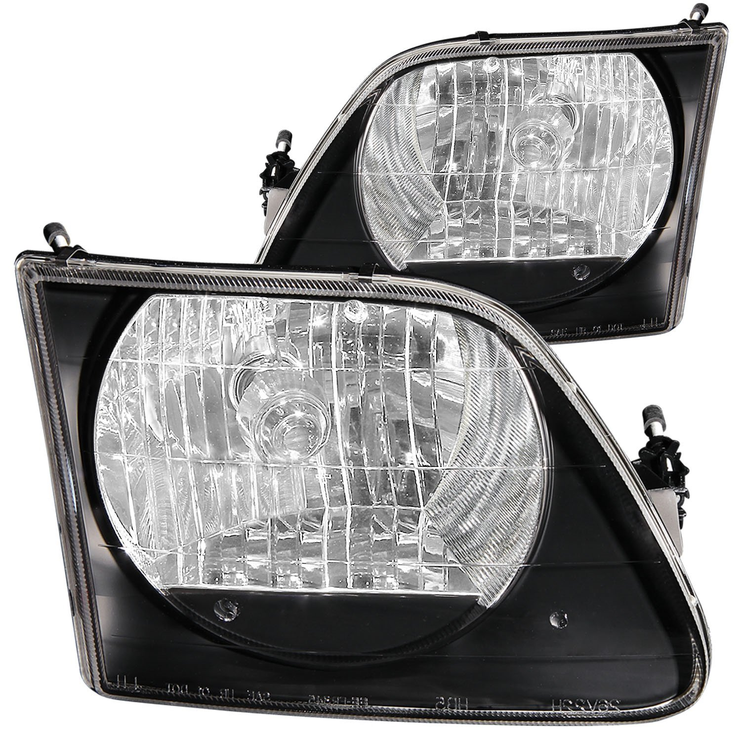Anzo USA 111083 Ford F-150 Black Headlight Assembly Sold in Pairs