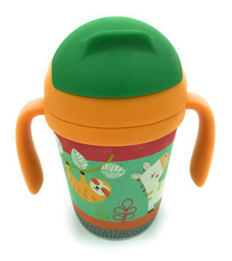 Vaso de aprendizaje de Bambú para uso infantil, niño o niña ...