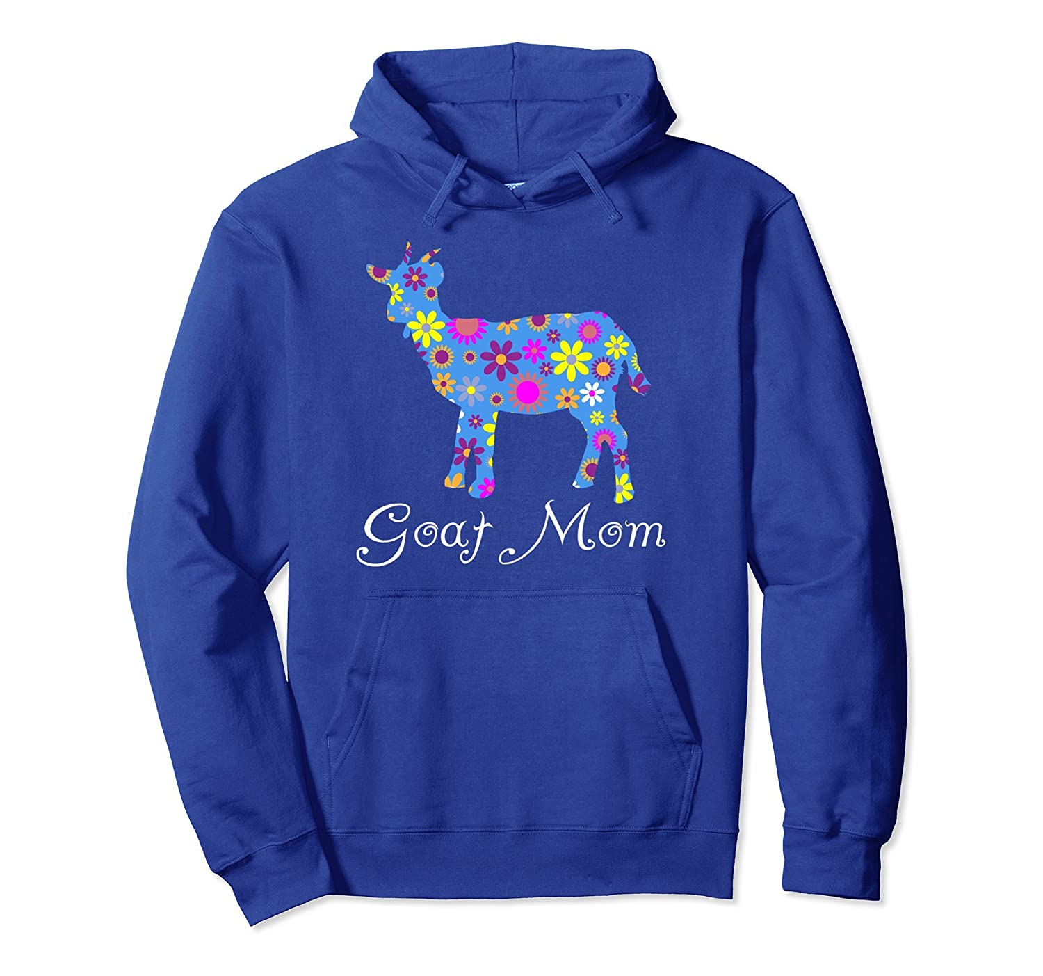 Goat Mom Hoodie - Cute Floral Apparel That Will Turn Heads-alottee gift