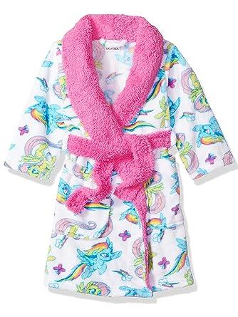 08b1e8a5a Amazon.com  My Little Pony Girls Fleece Bathrobe Robe (Little Kid ...