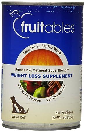 Fruitables Pumpkin Oatmeal Weight Loss Supplement 12 15-oz cans