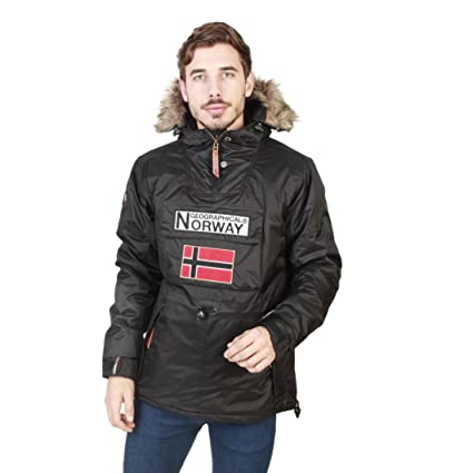 Geographical Norway Chaqueta Boomerang_Man Hombre Color: Negro Talla: M