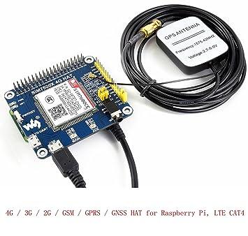 Pzsmocn 4g 3g 2g Gsm Gprs Gnss Hat For Raspberry Pi Zero Zero W Zero