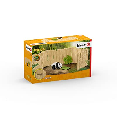 Schleich North America Panda Enclosure, Multicolor: Toys & Games