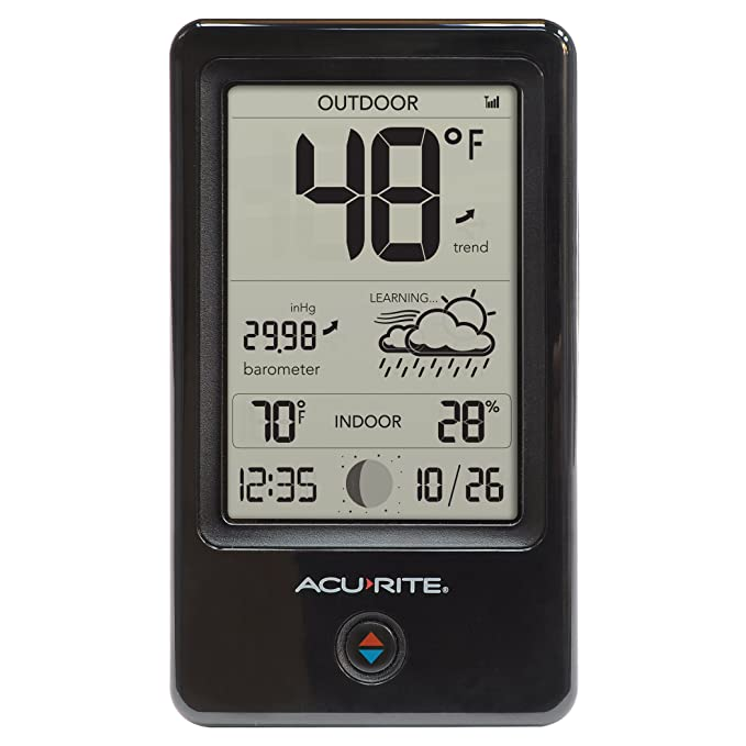 Amazon.com: AcuRite 00508 Weather Station with Count Temperature/Humidity/Forecast: Home & Kitchen
