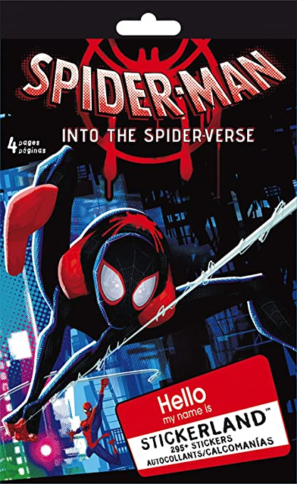 Trends International Spiderman Spiderverse Mini STICKERLAND 6PG Pad