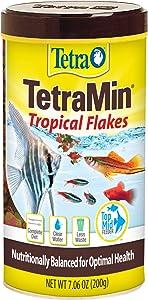 Tetra 16106 TetraMin Flakes, 7.06-Ounce