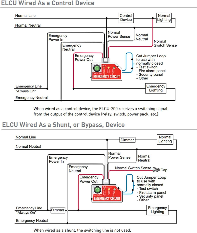 Amazon.com: Wattstopper Elcu-200 Emergency Lighting Cnotrol Unit Power Pack  -White: Home Audio & TheaterAmazon.com