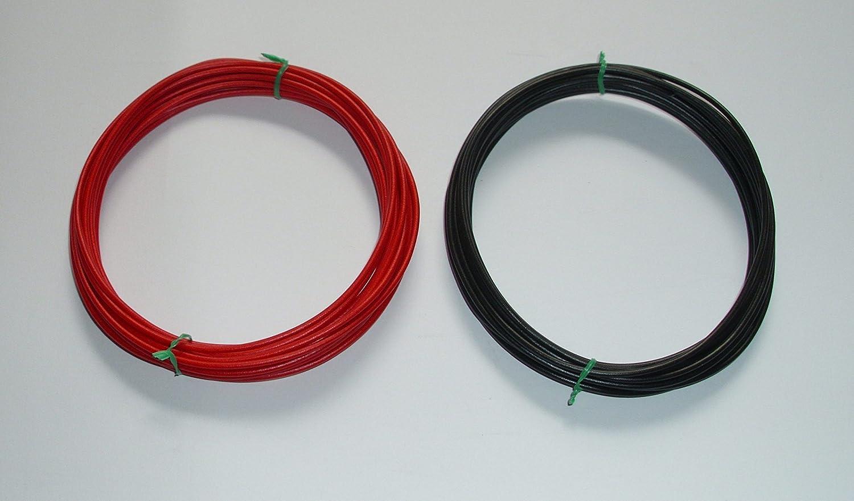 2 x 5m ( € 0, 52/m ) 1, 0mm² Kfz Kabel Set Litze Flry (w. Längen siehe Beschreibung) AIV ostFLRY1mm²