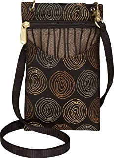 product image for Danny K Women's Tapestry Crossbody Cell Phone or Passport Purse, Handmade in USA, Getty / Gravity, Cellphone Case
