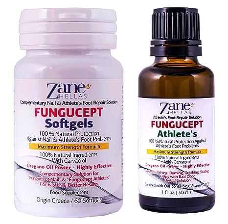 FunguCept Advanced Repair Solution. Producto para los cuidados del pie 100% natural. Resultados