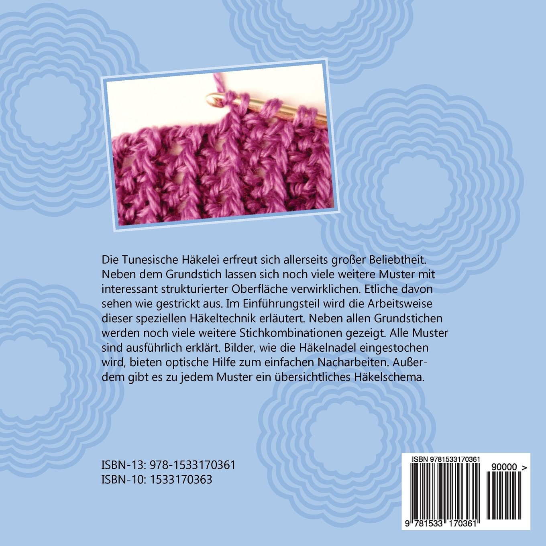 TUNESISCH Häkeln - Band 1: Strukturmuster TUNESISCHE Häkelmuster ...
