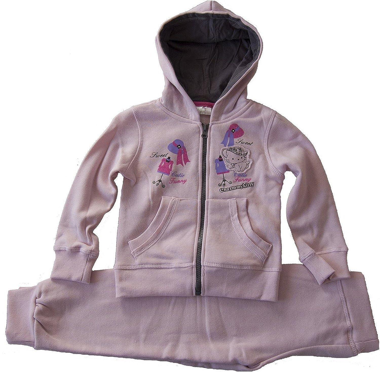 Hello Kitty - Chándal - para niña Rosa Rosa Palido 2 años: Amazon ...