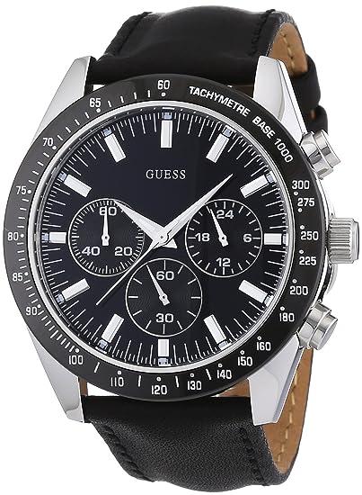 Cuarzo Chase W12085g1 Guess De HombreCorrea Analógico Reloj Para QdCxBreoW