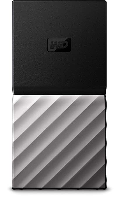 WD 512GB My Passport SSD Portable Storage - USB 3 1 - Black-Gray -  WDBK3E5120PSL-WESN