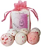 Amazon Price History for:Love & Hearts Mother's Day Gift Set 6 Bath Bombs from Enhance Me, Handmade with Organic Palm Oil, Rich Shea Butter and Coconut Oil