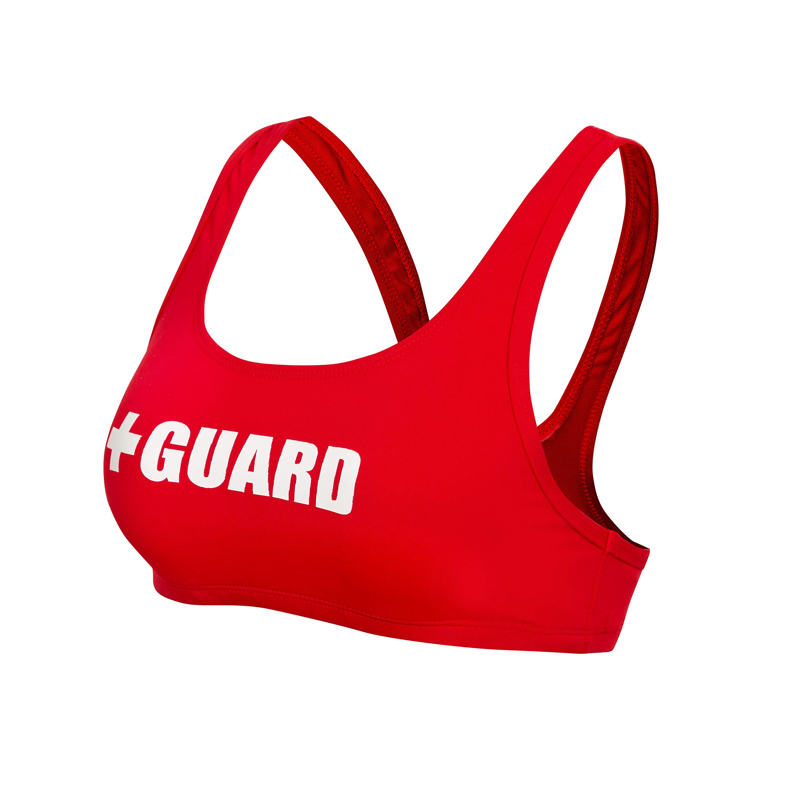 Guard Swimsuit Top Wide Strap