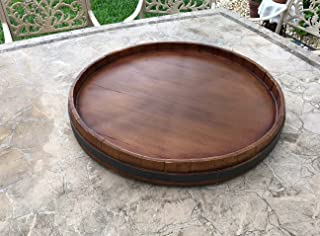product image for Wine Barrel Extra Large Lazy Susan