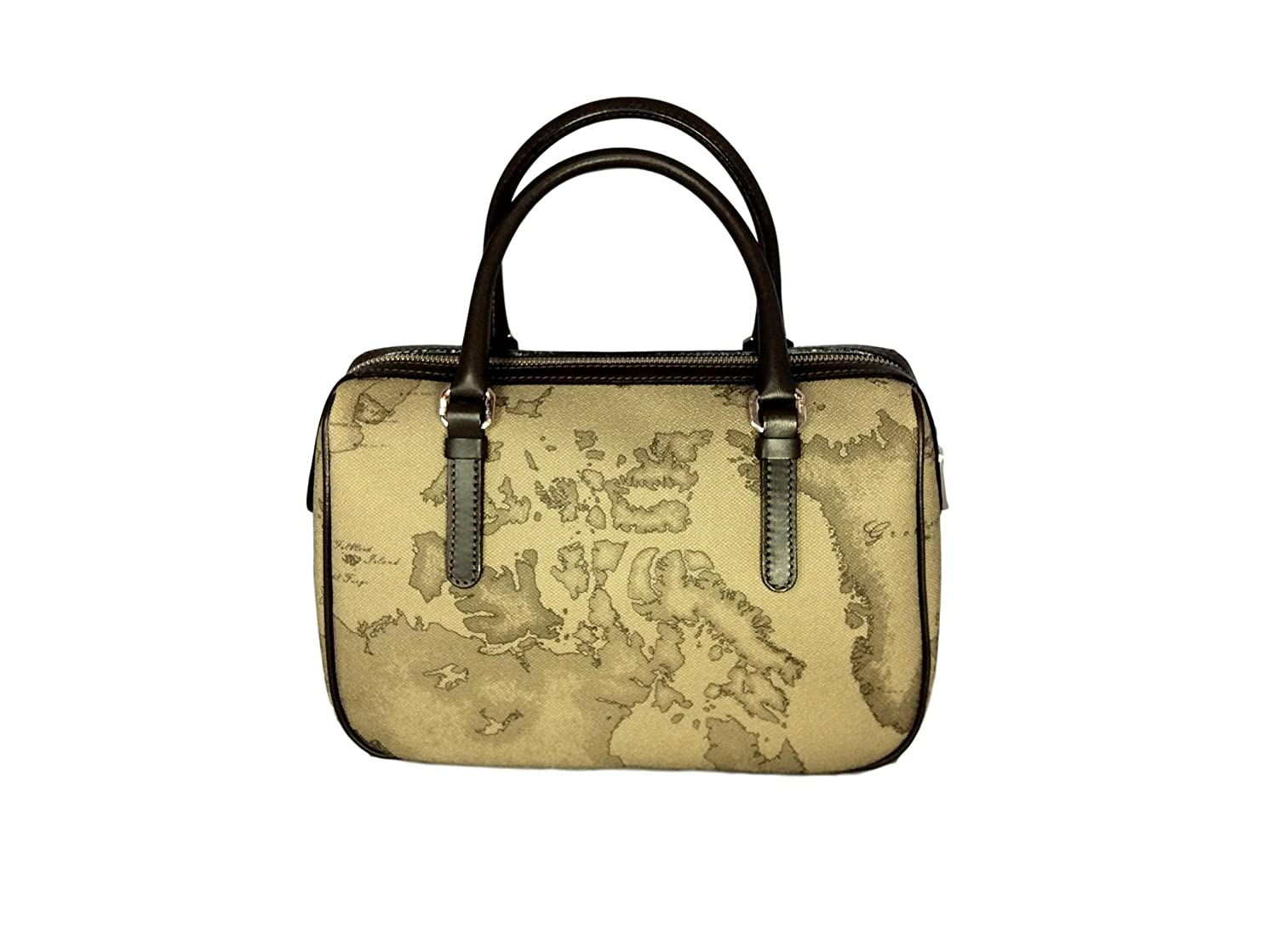 ALVIERO MARTINI PRIMA CLASSE Borsa a mano media in stampa geo TAUPE  CN1286130  Amazon.it  Scarpe e borse aff5e298995