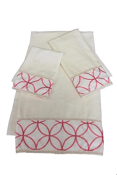 Jerez Kline 3 piezas fresco decorativo juego de toallas