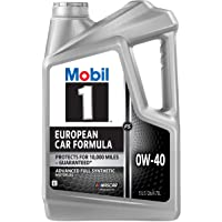 Mobil 1 - 153669 Synthetic Motor Oil 0W-40 5 Quart, 120760