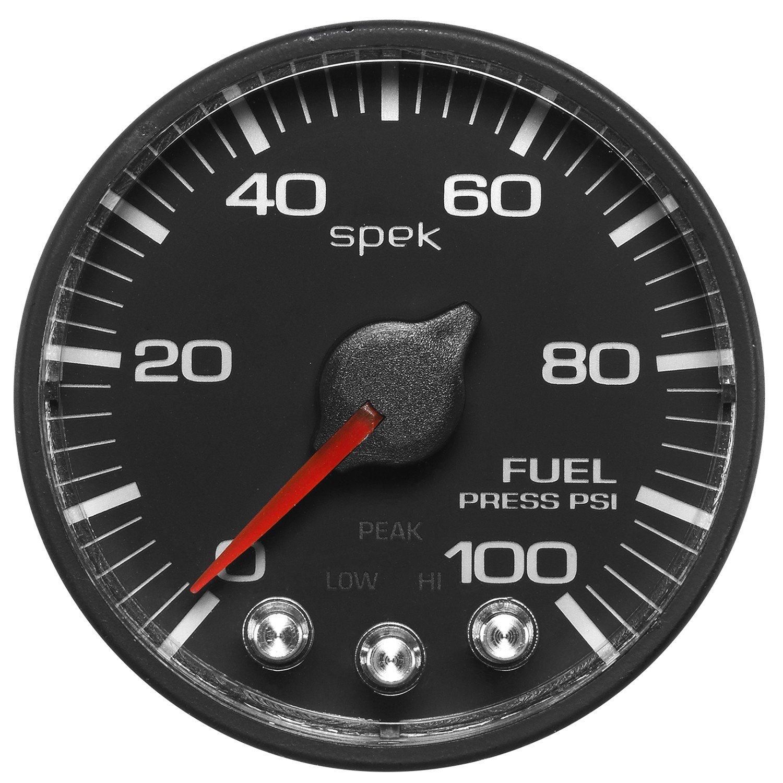ProParts P314328 Spek-Pro 2-1/16'' Electric Fuel Pressure Gauge (0-100 PSI, 52.4mm)
