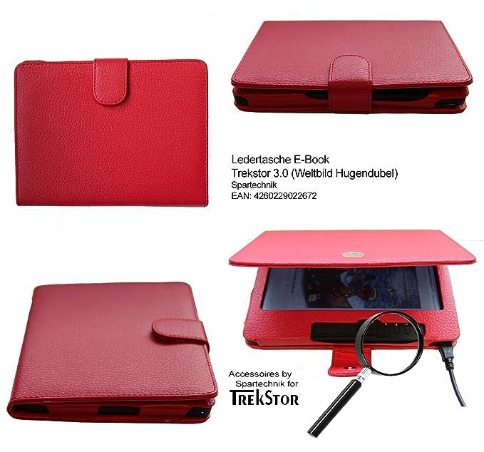Rojo Funda protectora para Trekstor 3,0 de Hugendubel Weltbild ...