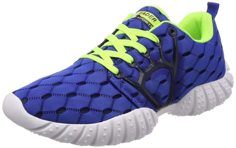 GBG Bolt Running Green Orange Spikes Marathon Shoes-1111