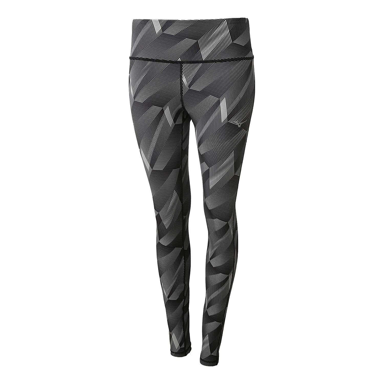 Mizuno Damen Hineri Reversible Tight Laufbekleidung Tight Dunkelgrau - Grau Xs