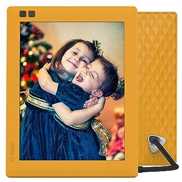 NIXPLAY Seed Marco Digital WiFi 8 Pulgadas W08D Mango. USA la Aplicación para Enviar Fotos