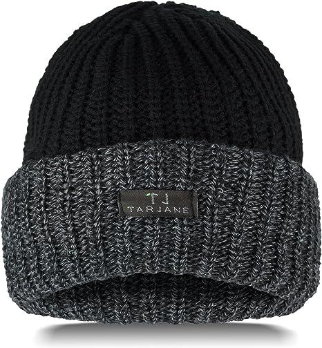 TOG 3.4 - Gorro de invierno para hombre (relleno de algodón), Negro , talla única: Amazon.es: Deportes y aire libre