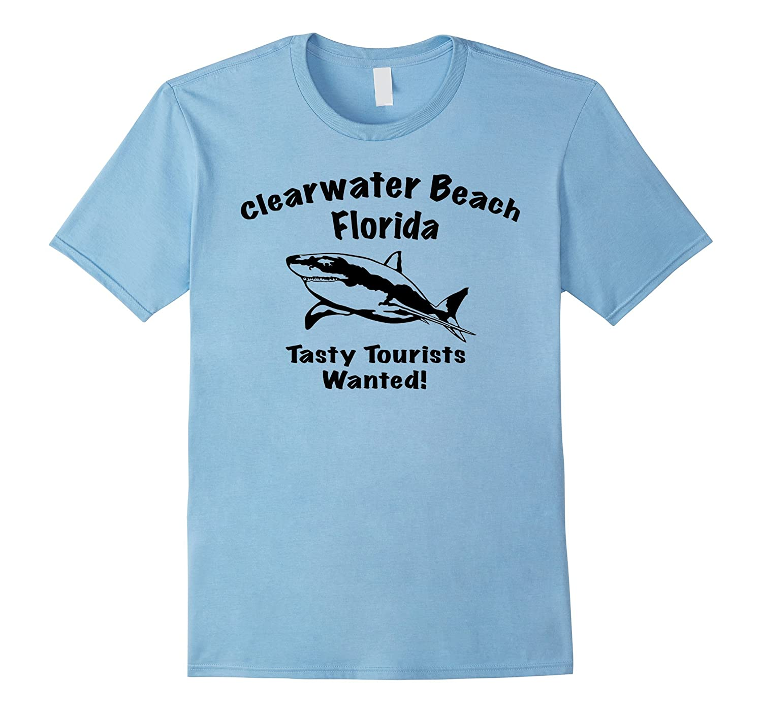 Clearwater Beach Florida Tasty Tourists Wanted tee shirt-TH