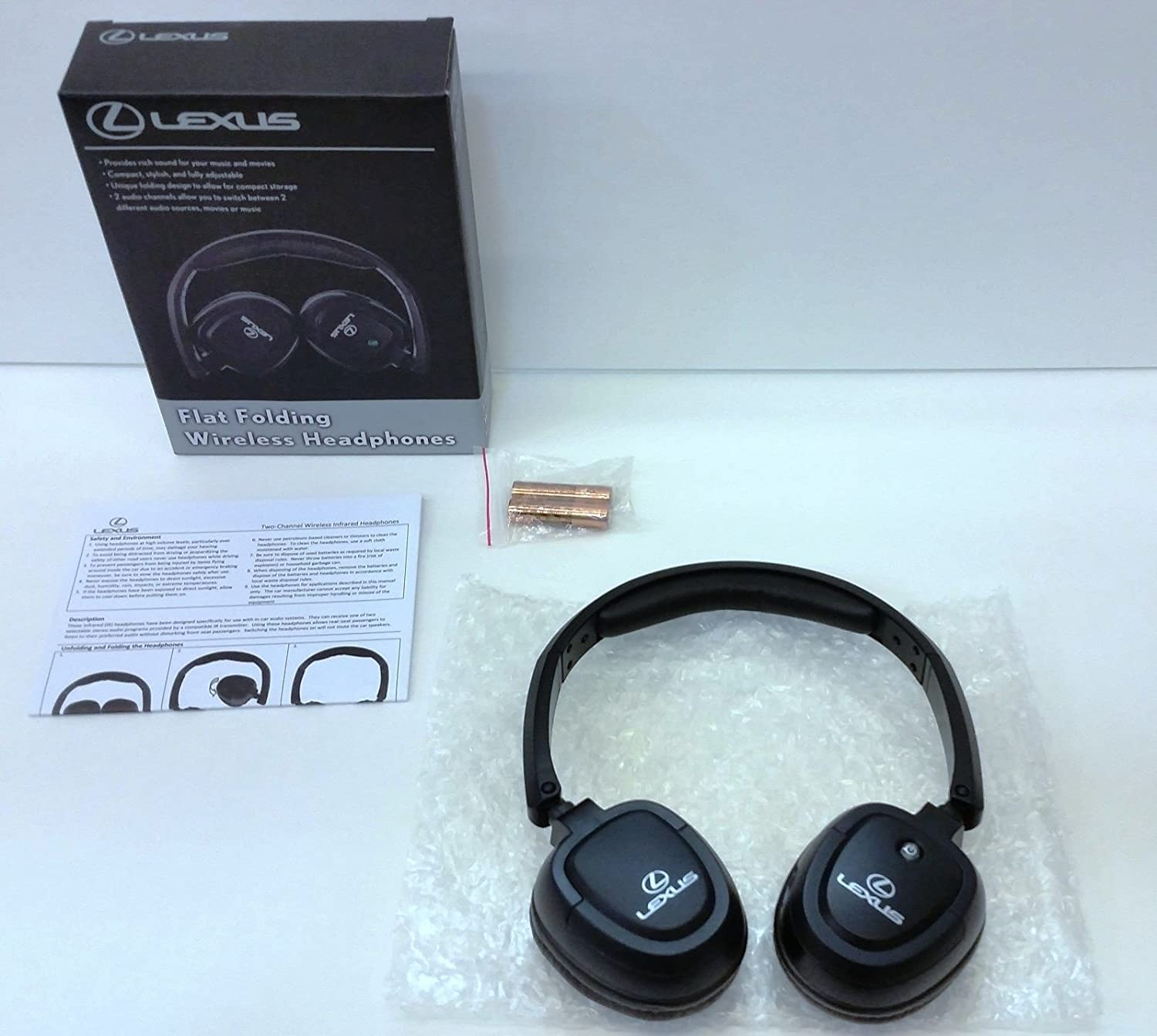 LEXUS OEM Factory Wireless Headphones 2010-2016 LX570