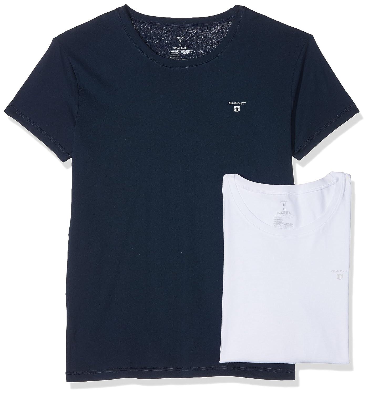 b1315dbbe6bd Gant Men's T - Shirt (Pack of 2: Amazon.co.uk: Clothing
