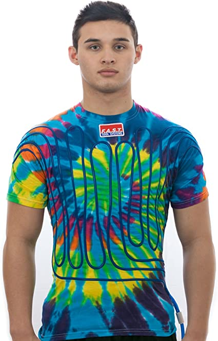 Tie Dye Cool Suit Shirt L Fresh Air Systems Technologies F.A.S.T