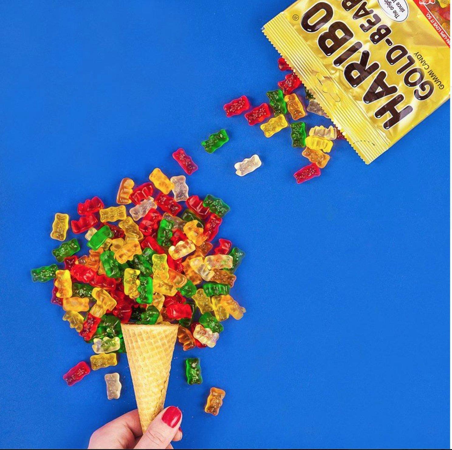 Haribo Gummi Candy, Goldbears Gummy Candy, 48 Ounce Bag (Pack of 4) by Haribo (Image #4)