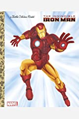 The Invincible Iron Man (Marvel: Iron Man) (Little Golden Book) Kindle Edition