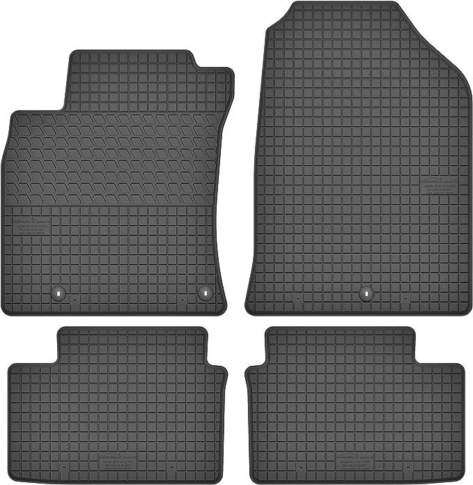 Motohobby Gummimatten Gummi Fußmatten Satz Für Hyundai I30 Iii Ab 2016 Kia Ceed Iii Ab 2018 Passgenau Auto