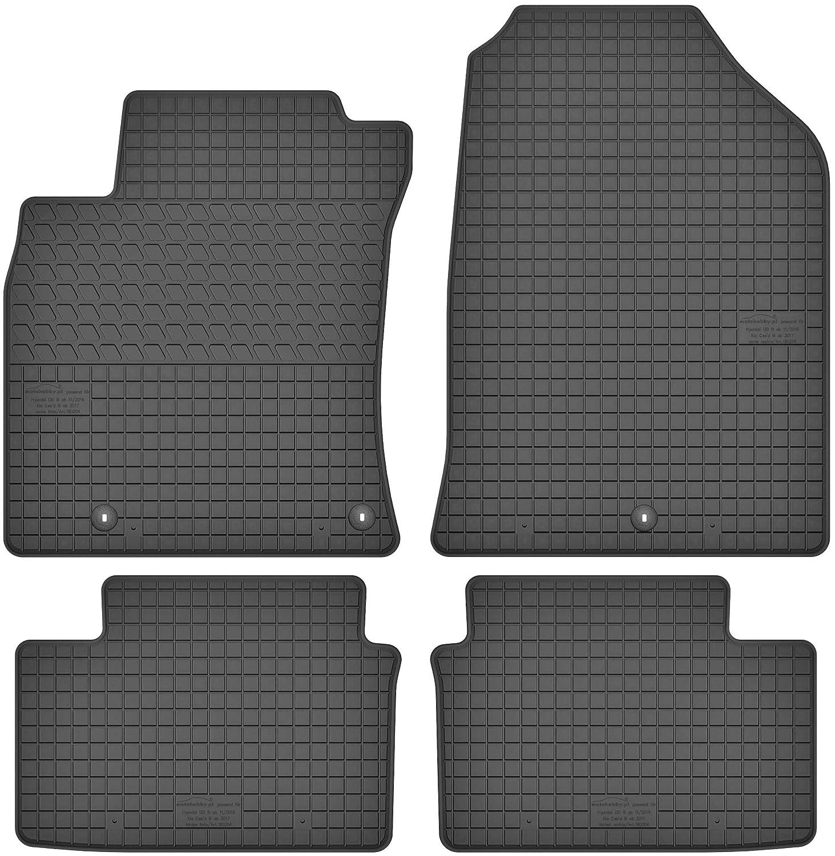 Petex Audi A6 4G A7 Satz Fußmatten Gummi Gummifußmatten Gummimatten
