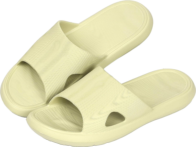 Shower Slipper, Bathroom Non-Slip Slippers, House and Pool Sandals, in-Door Slipper with Massaging Effect