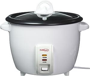 Premium PRC1835 10 Cup Rice Cooker, White