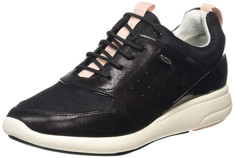 Geox D Ophira B, Zapatillas para Mujer 36 EU|Negro