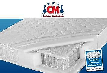 Matratze 180x200 Cm Tonnentaschenfederkernmatratze In 180 X 200 Cm